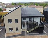 Ty Rosser Gwyn homes completed